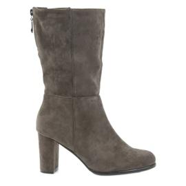Brown Boots dark boots Coffe Sergio leone