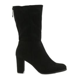 Boots black boots Sergio leone