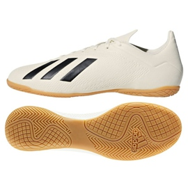 Indoor shoes adidas X Tango 18.4 In M white