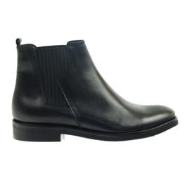 Edeo boots black slip-in 3244