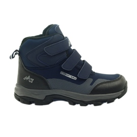 Mttrek Velcro booties MT TREK 012 navy