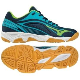 Handball shoes Mizuno Mirage Star 2 Jr. X1GC170536 blue