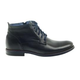 Winter boots on zipper black Nikopol 677