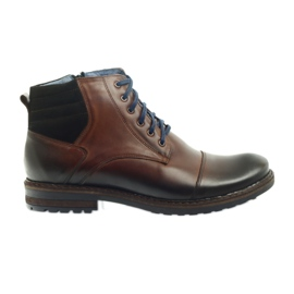 Brown men's shoes Nikopol 683