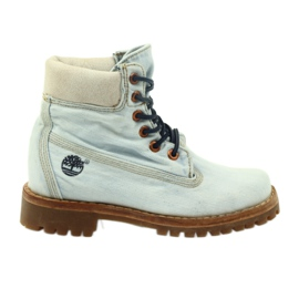 Blue Timberland LTD FABRIC 6IN G83