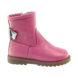 Boots with pink bow Bartuś 317