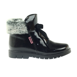 American Club black American boots boots winter boots 18015