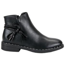 Filippo Flat Boots Women black