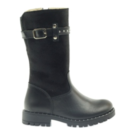 Boots on fur Ren But 3309 black