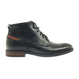 Boots black knotted Pilpol 6030