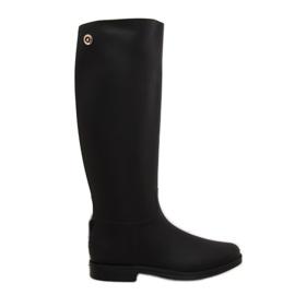 Rainy Show Rain Boots black D59 Black