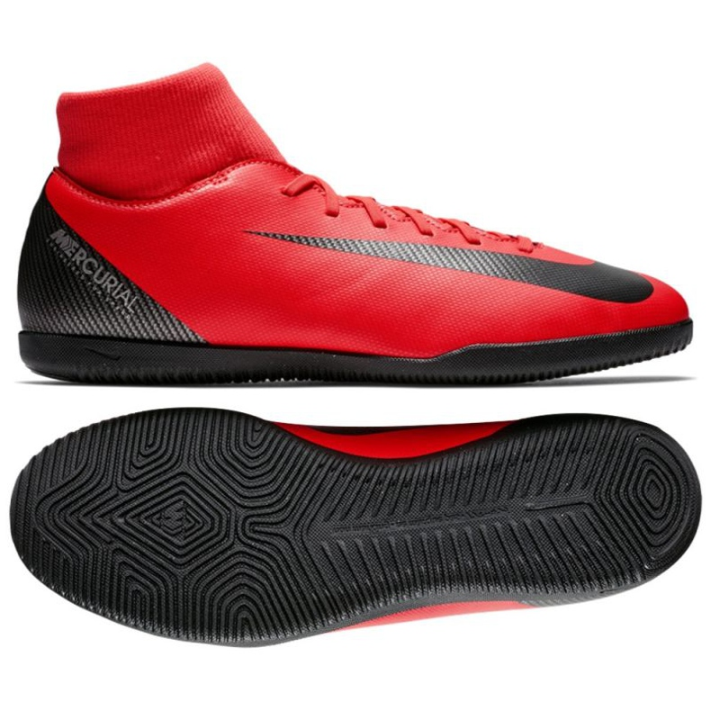 Nike Mercurial SuperflyX 6 indoor shoes red
