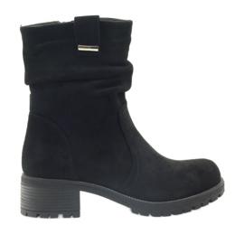 Boots black Suede Filippo