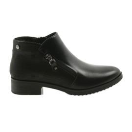 Daszyński black Short boots Jodhpur boots