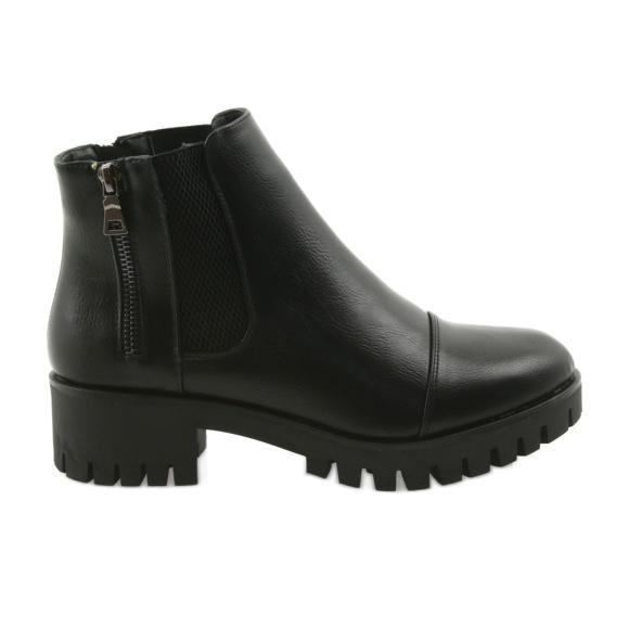 Female winter boots Daszyński MR1813 black
