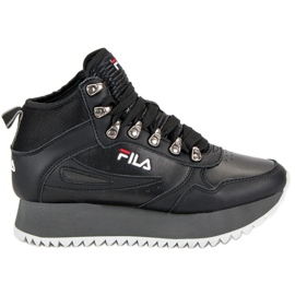 Black Fila Orbit Zeppa Ripple