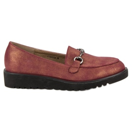 Kylie Stylish moccasins red