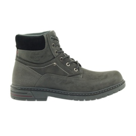 Grey Gray ankle boots McKey 616