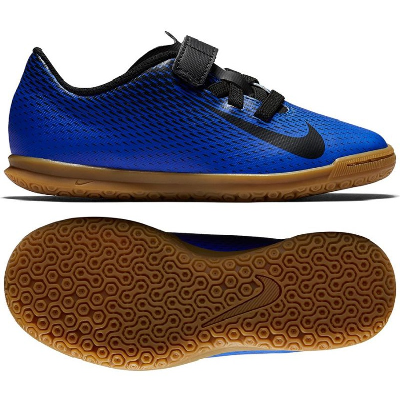 Indoor shoes Nike Bravatia Ii V Ic Jr 844439-400 blue blue