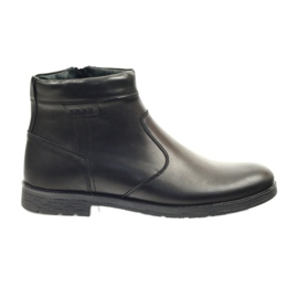Riko boots with zipper 825 black