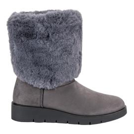 Kylie grey Fashionable Winter Footwear