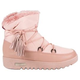 MCKEYLOR snow boots pink