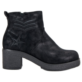 Kylie Military Women Boots black