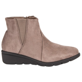 Kylie Suede Boots brown