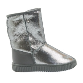 Grey Boots Bartek 47750 natural wool