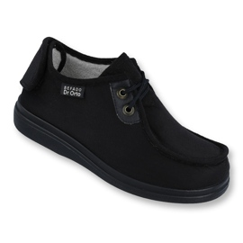 Black Befado men's shoes pu 732M004