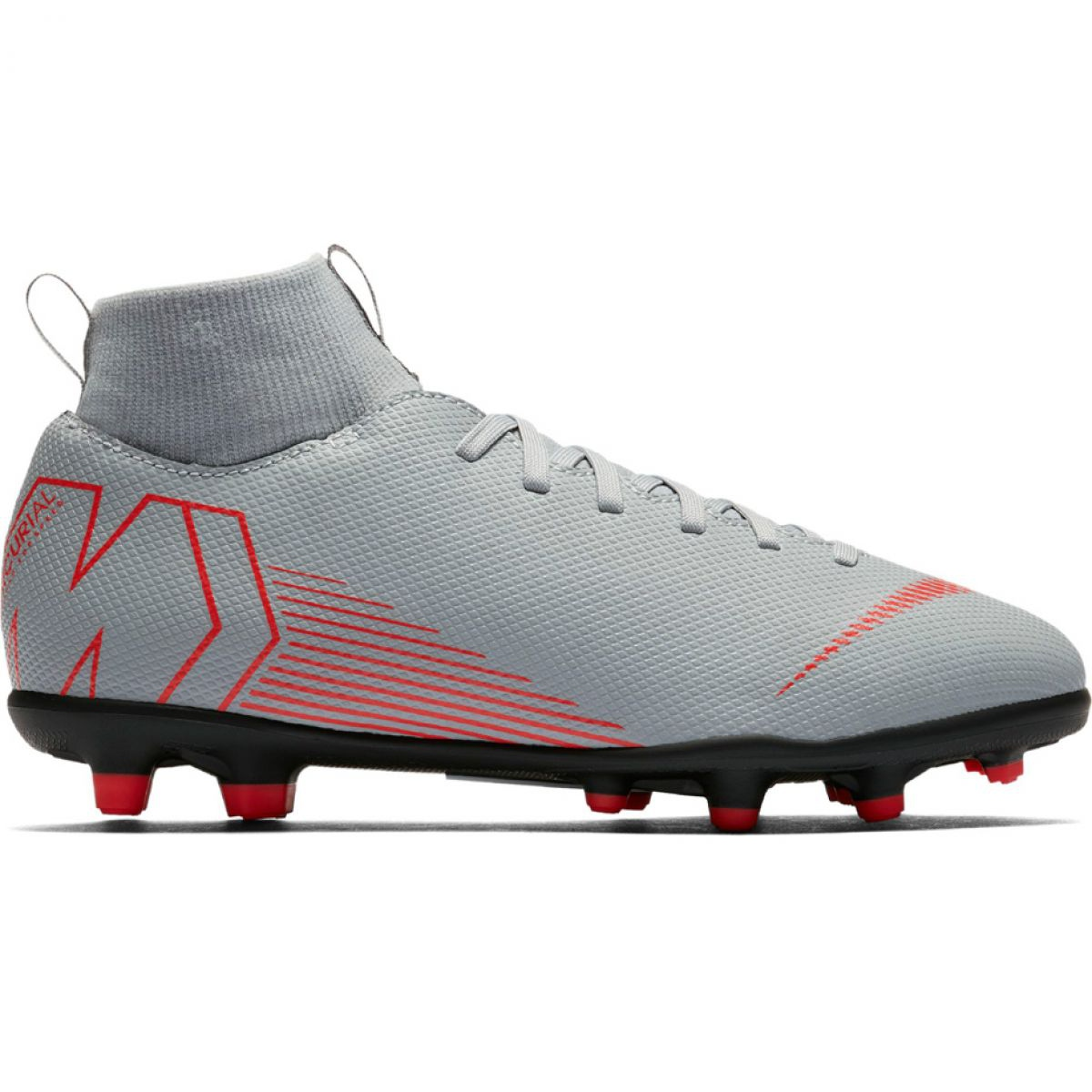 timeless design 36502 f8f1c Football shoes Nike Mercurial Superfly 6 Club Mg Jr AH7339 060 white