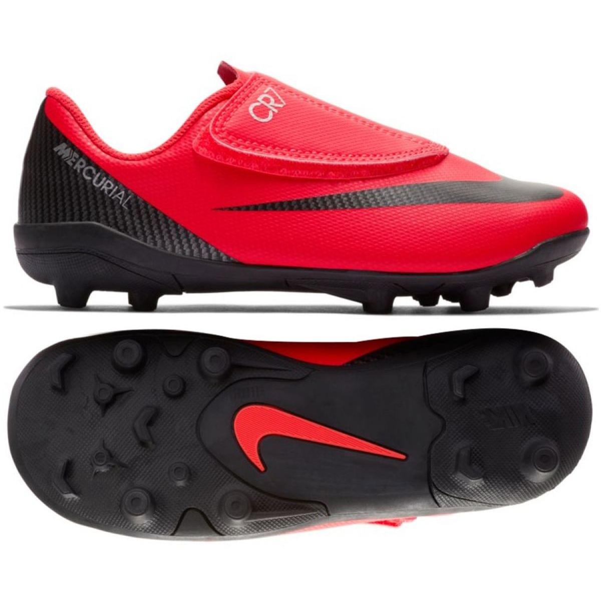 best service a665e 9eae4 Nike Mercurial Vapor 12 Club Shoes Ps V CR7 Mg Jr AJ3096-600