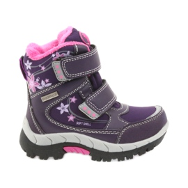 American Club violet American boots winter boots with membrane 3121