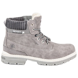 McKey Gray Women's Trappers grey
