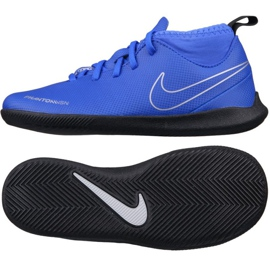 Indoor shoes Nike Phantom Vsn Club Df blue