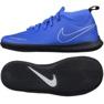 Indoor shoes Nike Phantom Vsn Club Df blue