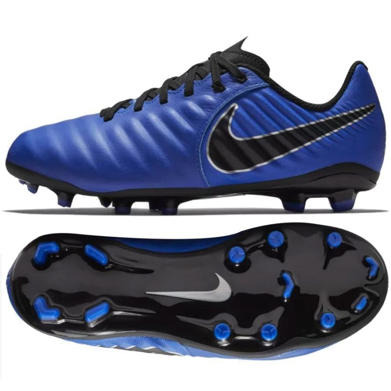 Nike Tiempo Legend Academy football shoes blue
