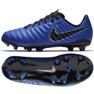 Nike Tiempo Legend Academy football shoes blue