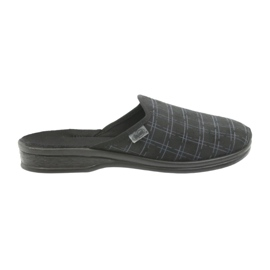 Befado men's shoes slippers 089M408 black