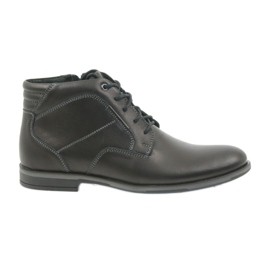 Riko men's shoes booties Jodhpur 861 black