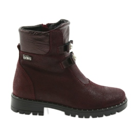 Girls boots Ren But 3314 burgundy