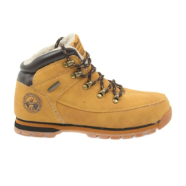American Club yellow American boots winter boots 152619