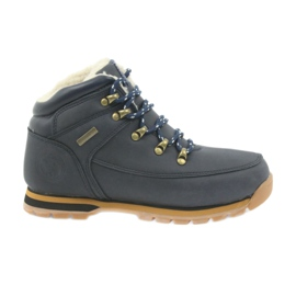 American Club navy American boots winter boots 152619