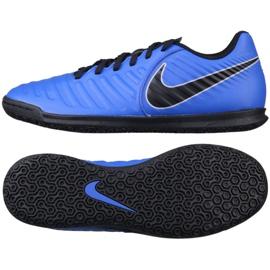 Indoor shoes Nike Tiempo LegendX 7 Club Ic M AH7245-400 blue blue