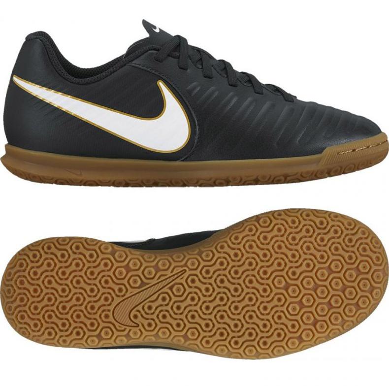 Indoor shoes Nike Tiempo X Rio Iv Ic Jr 897735002 black black