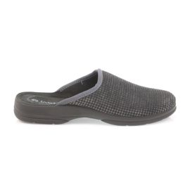Inblu grey Men's slippers gray slippers