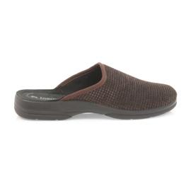 Inblu Men's slippers brown slippers