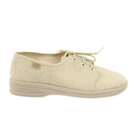 Brown Befado shoes men's shoes pu 630M007