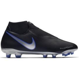 Football shoes Nike Phantom Vsn Academy Df M FG / MG AO3258-004 black black, blue