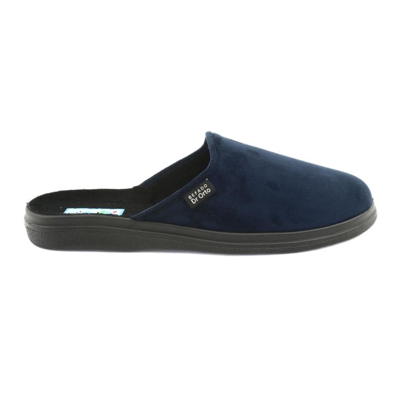 Befado men's shoes pu 125M006 navy